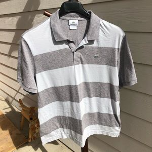 Lacoste polo shirt size 7